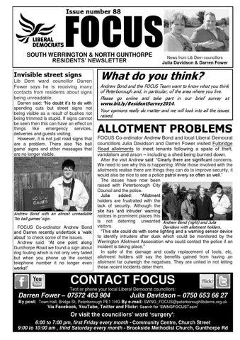 Werrington 88 by Peterborough Liberal Democrats - issuu