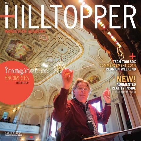 Worcester Academy Hilltopper Summer 2014 by Good Design - issuu 96a7aa34a