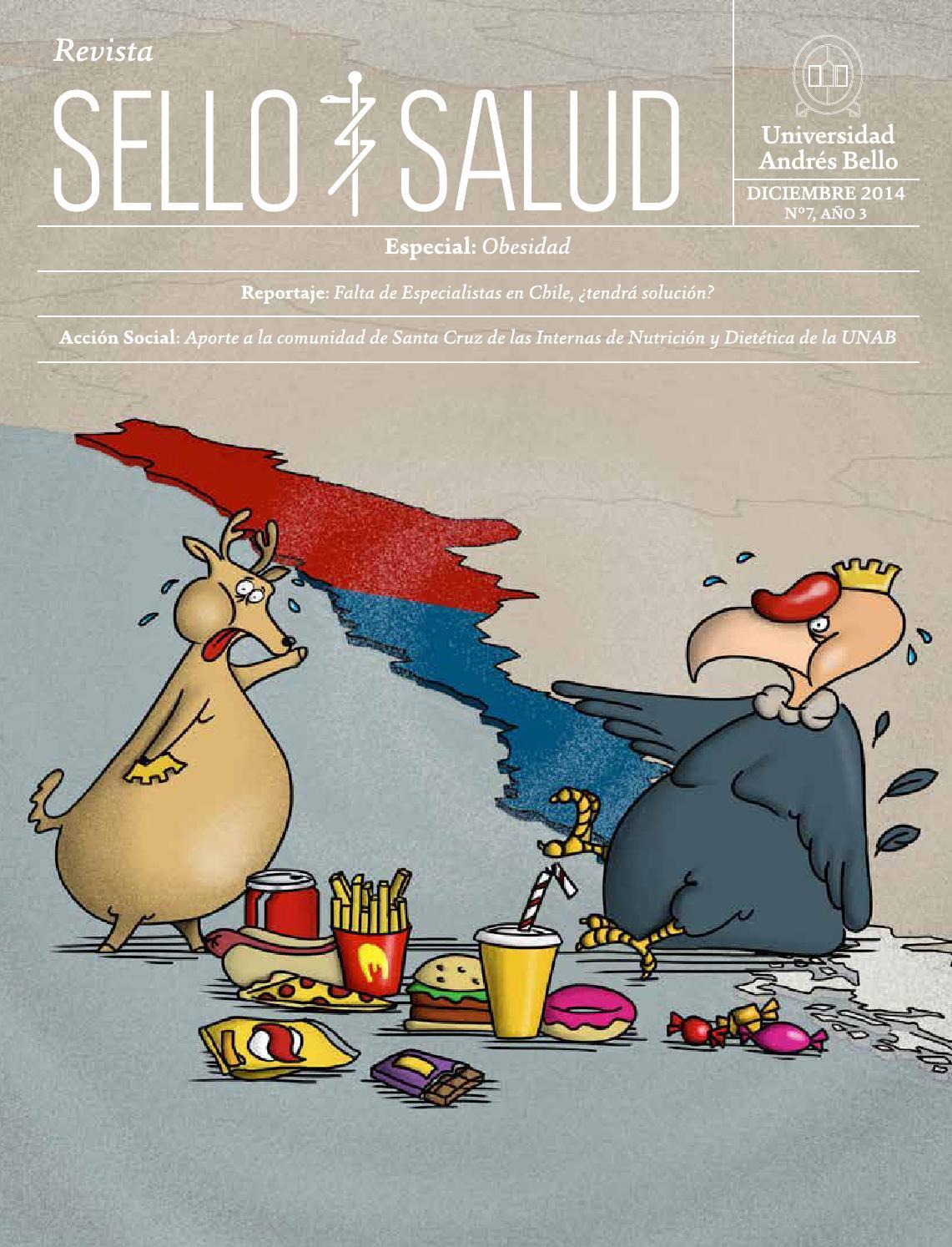 Revista Sello Salud UNAB 7 by Universidad Andres Bello - issuu