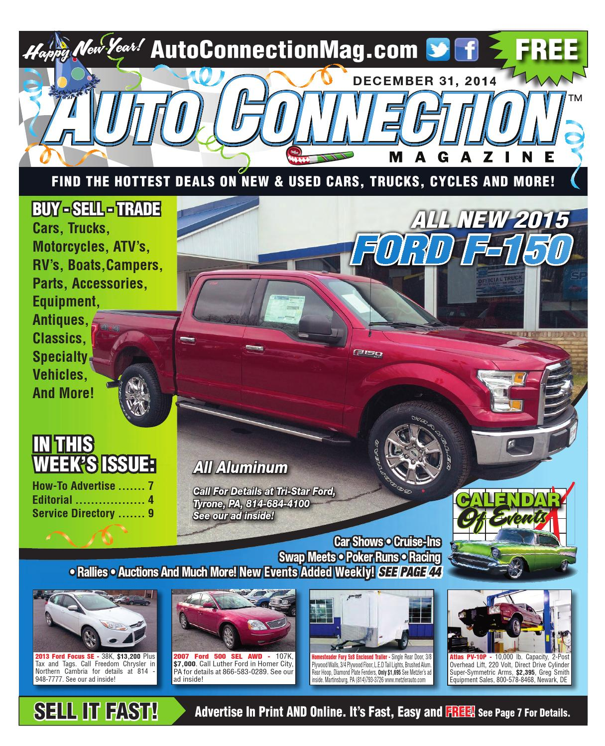 12 31 14 Auto Connection Magazine By Issuu 1955 Ford F100 Truck Moon Caps