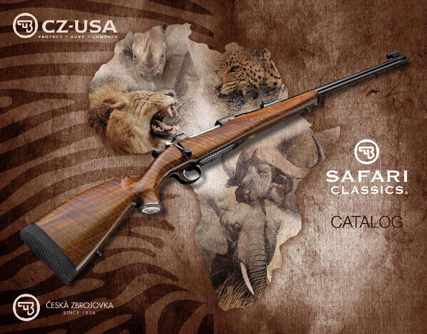 CZ Safari Katalog by Kuhada - issuu