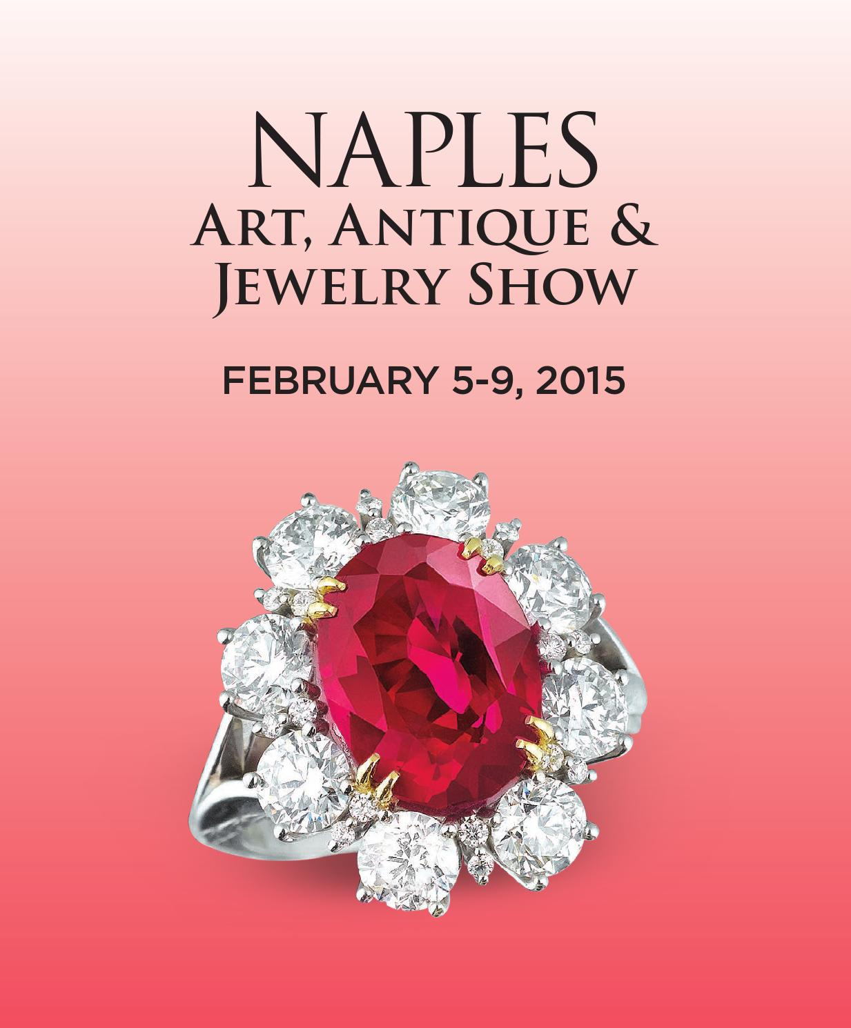 Naples Art Antique And Jewelry Show 2018 By Palm Beach Group Issuu