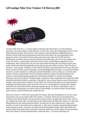 Günstige Nike Free Trainer 5.0 Herren JB9 by