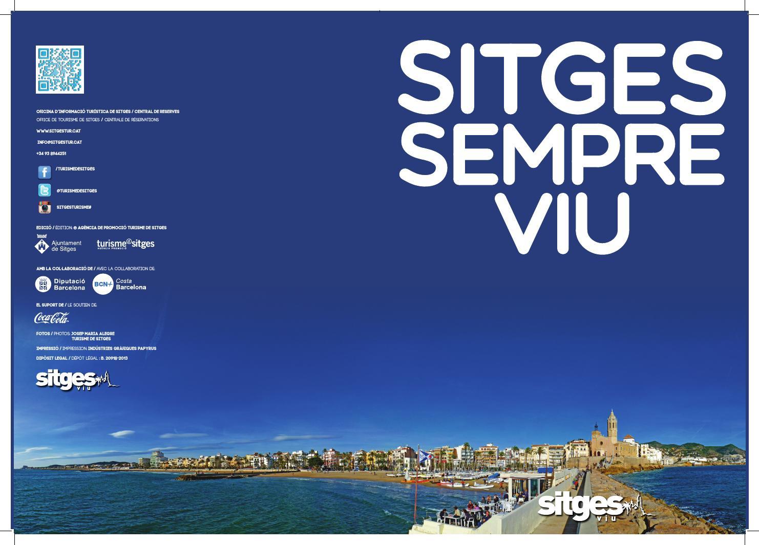 Sitges 39 s tourisme magazine in catalan and fran ais by sitges turisme issuu - Office de tourisme sitges ...