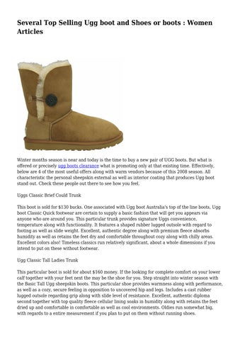 af21d28e7a1 Page 1. Several Top Selling Ugg boot and Shoes or boots : Women Articles