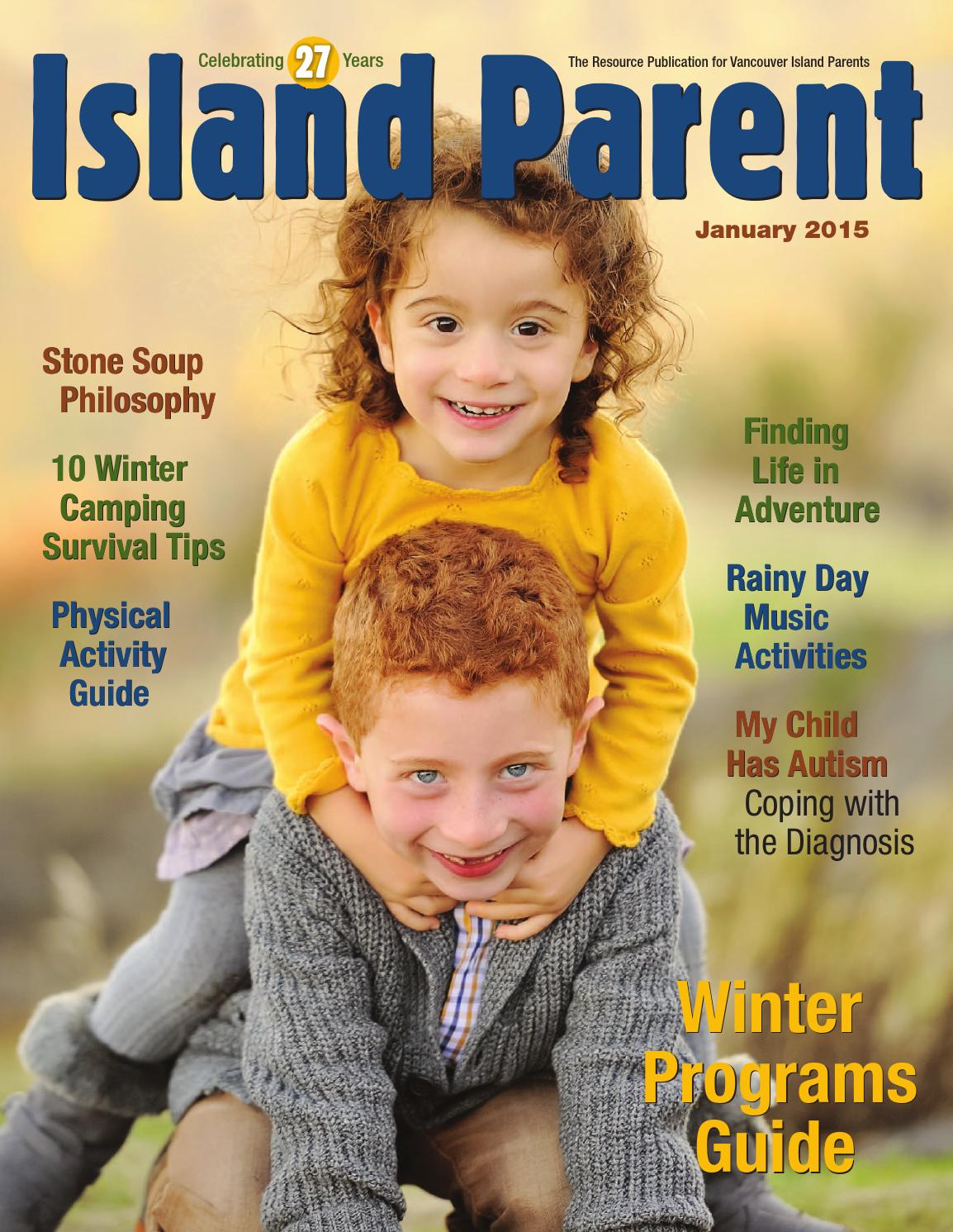 Island Parent January 2015 By Group