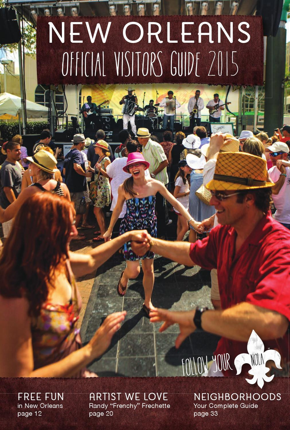 New Orleans Official Visitors Guide 2015 Jan-Jun by New ...