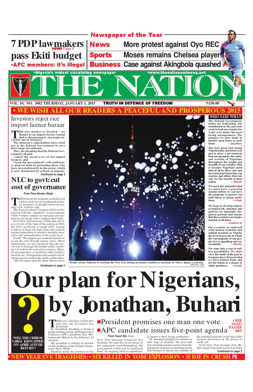 Thur e pages 1 1 15 by The Nation - issuu