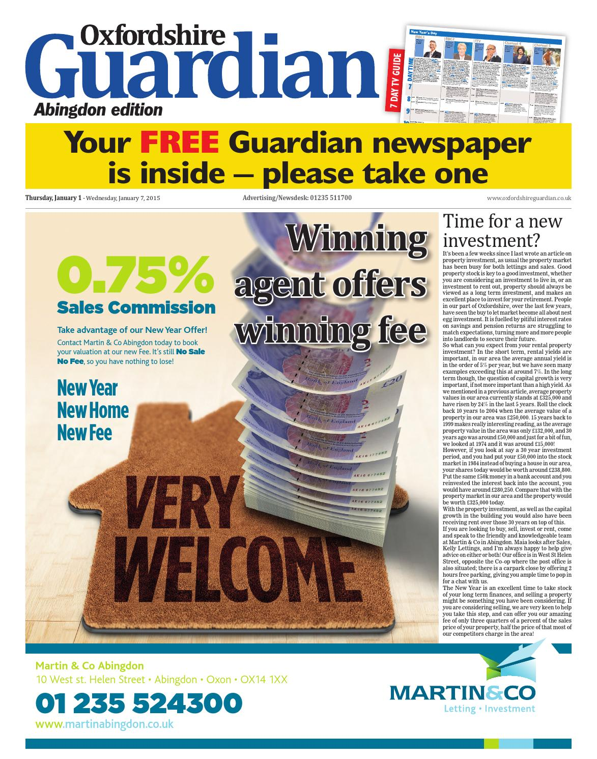 1 january 2015 oxfordshire guardian abingdon by taylor newspapers 1 january 2015 oxfordshire guardian abingdon by taylor newspapers issuu solutioingenieria Image collections