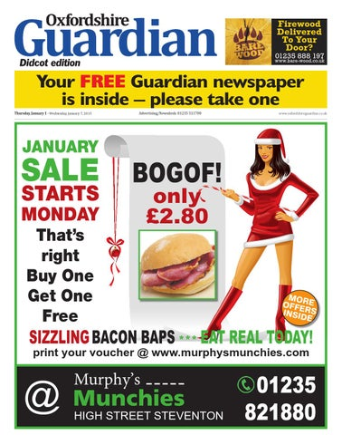 13856eb4 1 january 2015 oxfordshire guardian didcot by Taylor Newspapers - issuu