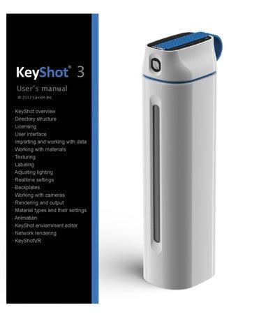 Keyshot3 manual en by Cho Chung Man - issuu