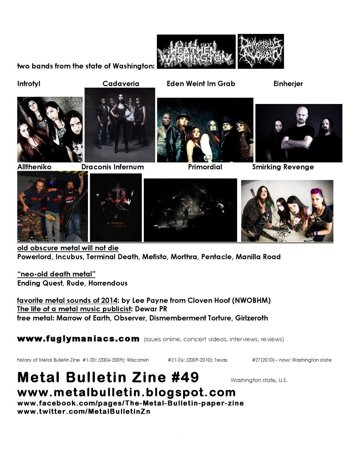 Metal Bulletin Zine 49 by Metal Bulletin Zine - issuu
