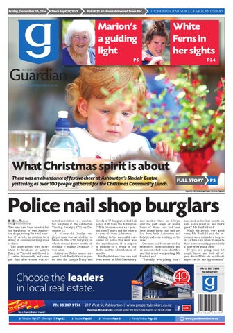 Ag 26 december 2014 by ashburton guardian issuu page 1 gumiabroncs Images