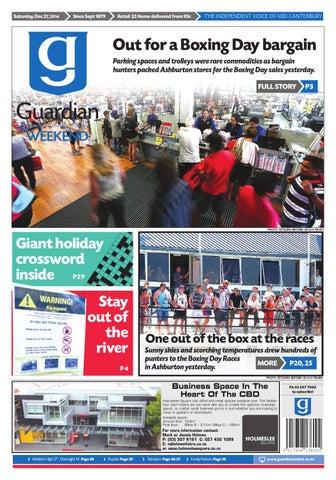 d5e4f1329eb2f Ag 27 december, 2014 by Ashburton Guardian - issuu