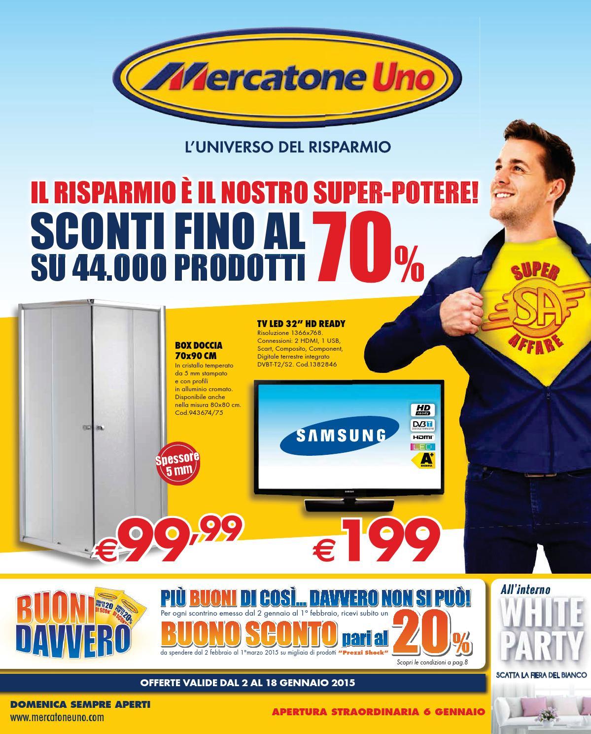 Accessori Bagno Mercatone Uno.Mercatone Uno Gennaio 2015 By Mobilpro Issuu