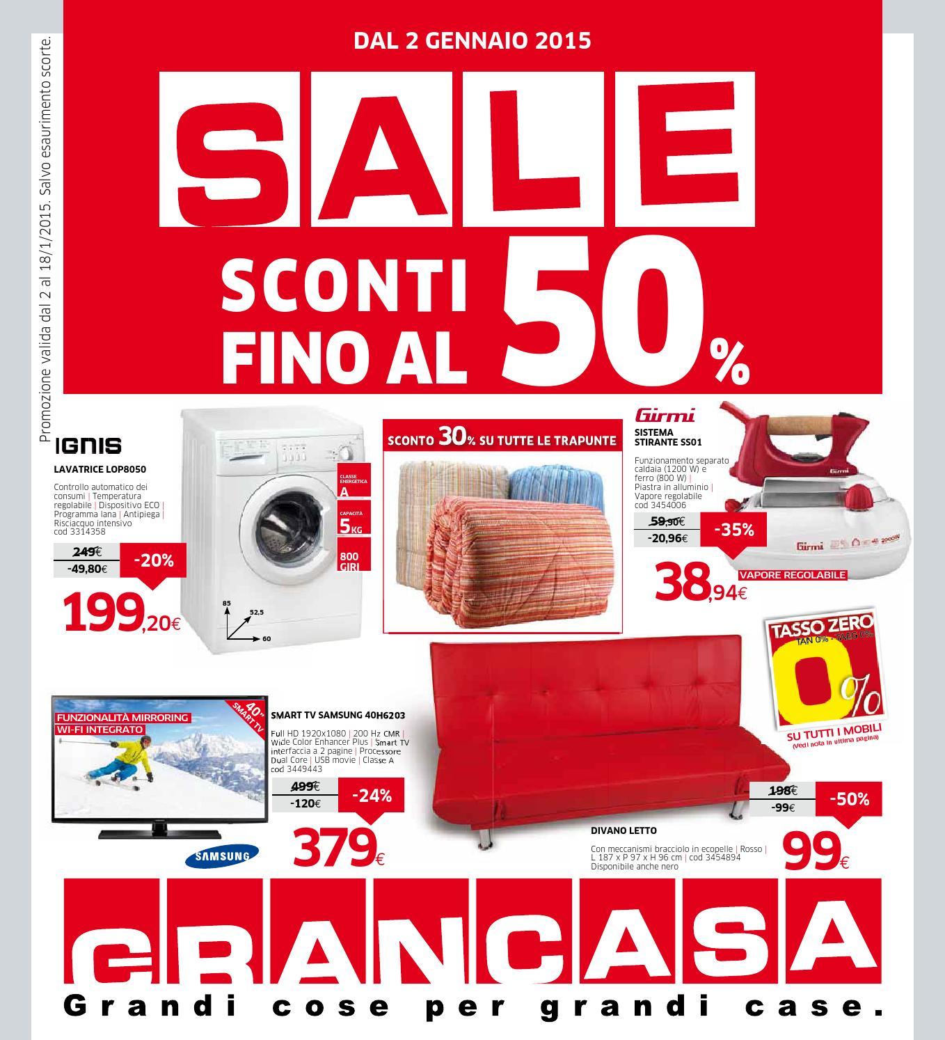 Grancasa gennaio 2015 by mobilpro issuu - Catalogo grancasa ...