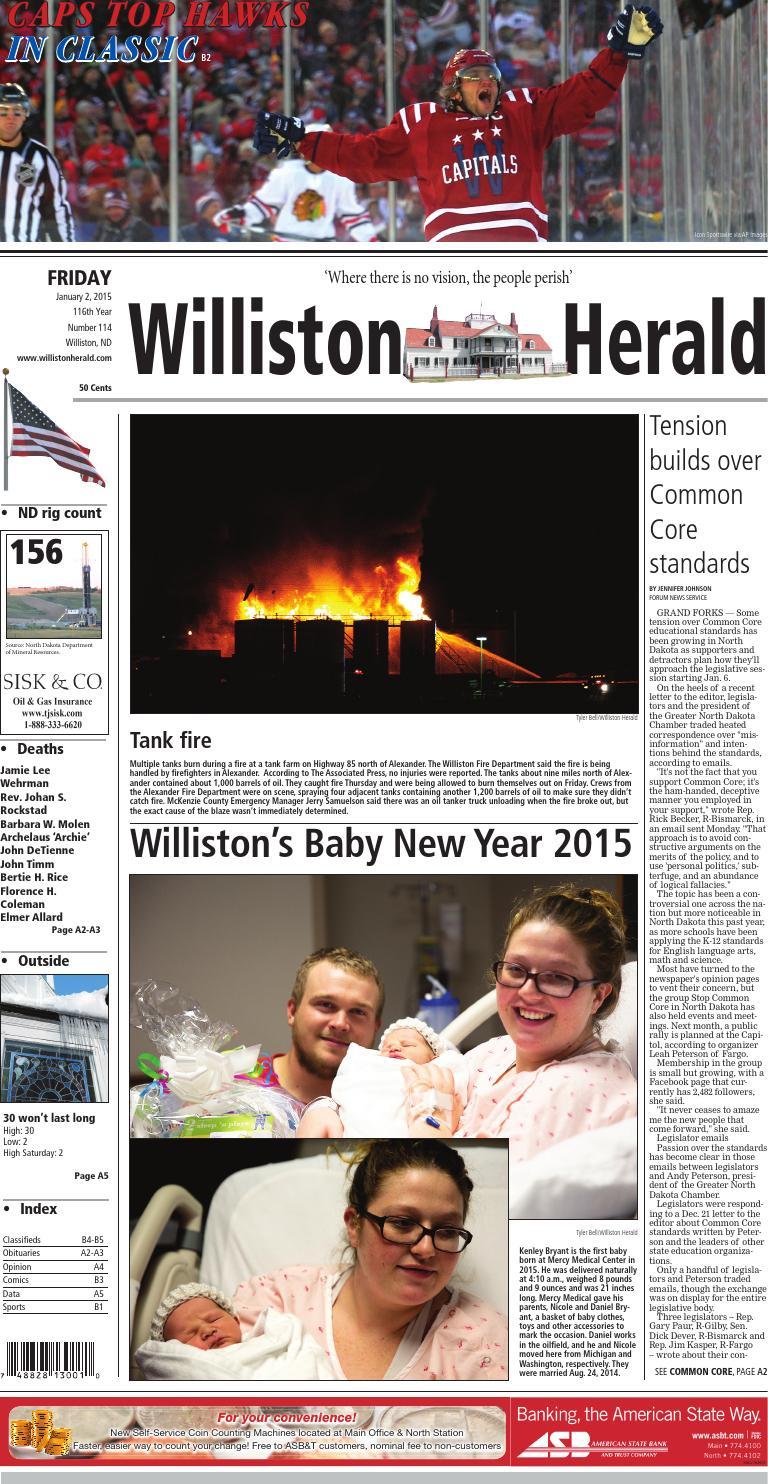 January 2, 2015 by Wick Communications - issuu