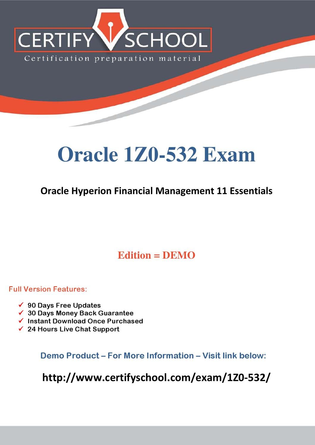 1z0 532 Certification Exam Complete Assessment With In First