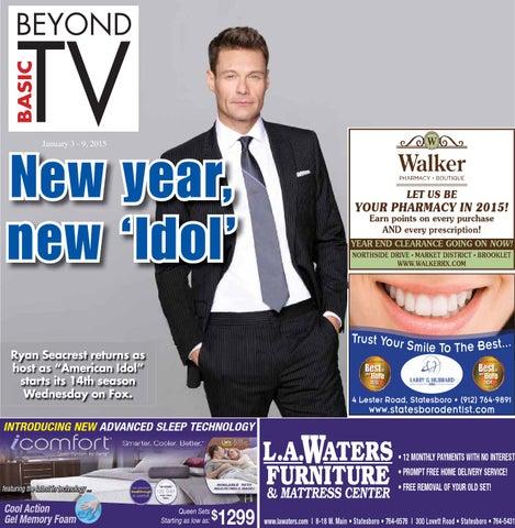 0b231c3b6 TV Guide Jan. 03 - 09 by Statesboro Herald - issuu