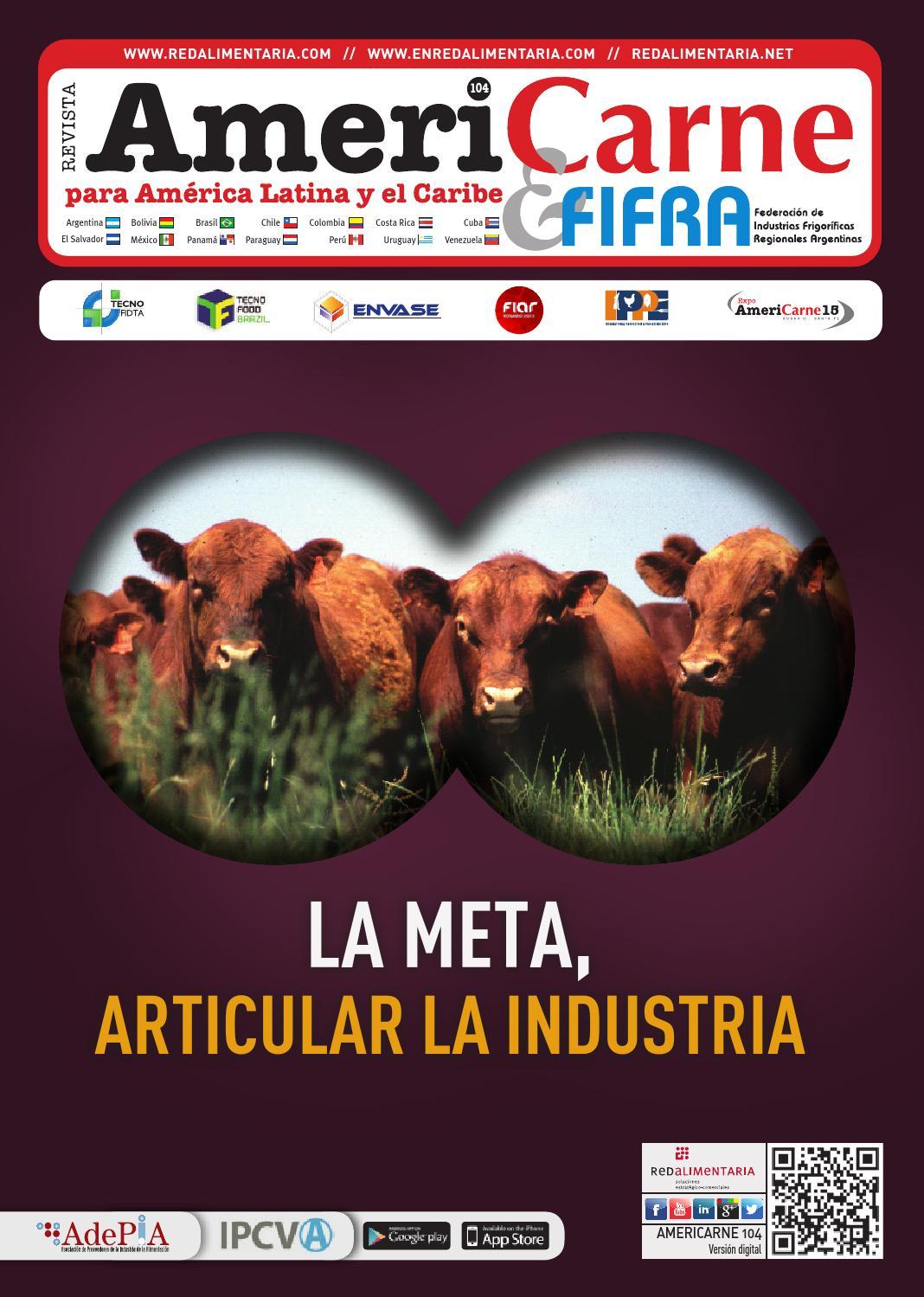 Americarne 104 by Red Alimentaria - issuu