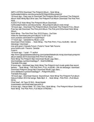 Nicki minaj 'chun-li' - free mp3/mp4 download mbbaze. Com.