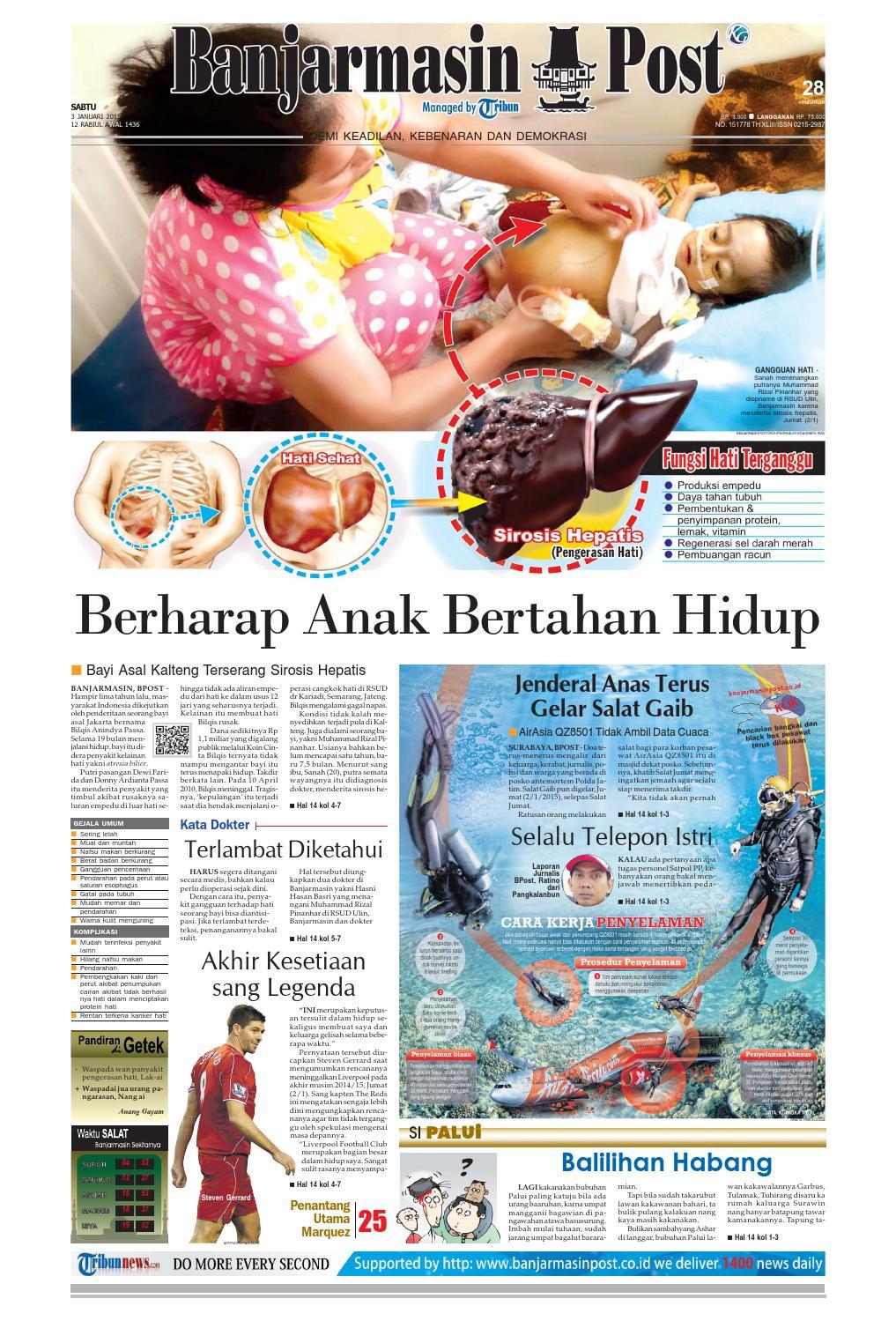 Banjarmasin Post Sabtu 3 Januari 2015 By Issuu Produk Ukm Bumn Tenun Pagatan Kemeja Pria Biru Kapal