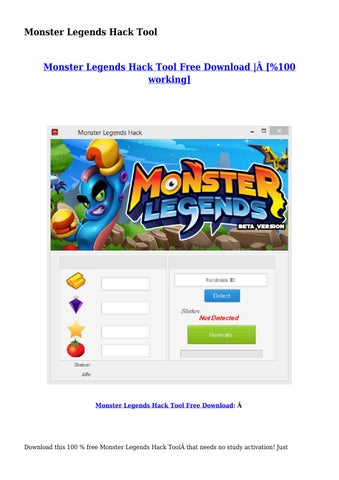 download hack monster legends free