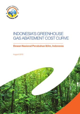 Indonesia ghg cost curve english by Thamrin School - issuu