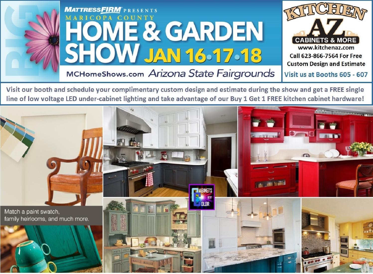 Kitchen Cabinets Phoenix Maricopa County Home Garden Show Jan 2015 By Edwardmugits Issuu