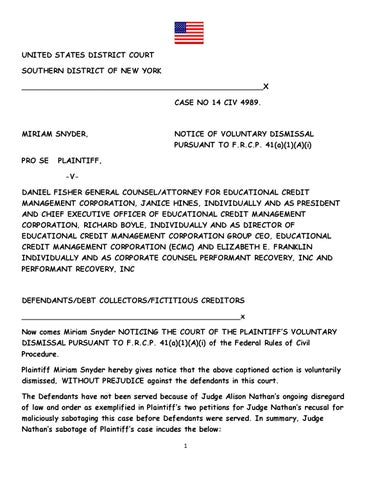 NYS FEDERAL JUDGE ALLISON NATHAN UNDERMINES CONSUMER