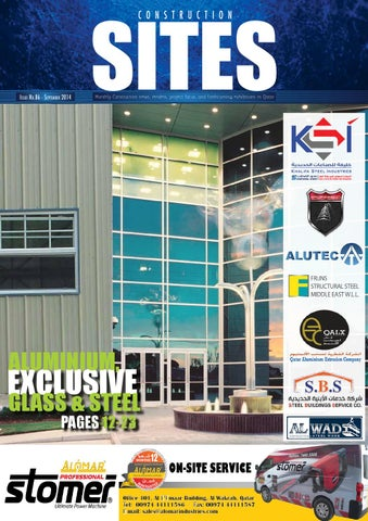 Construction Sites | September Issue no  86 by Qatar