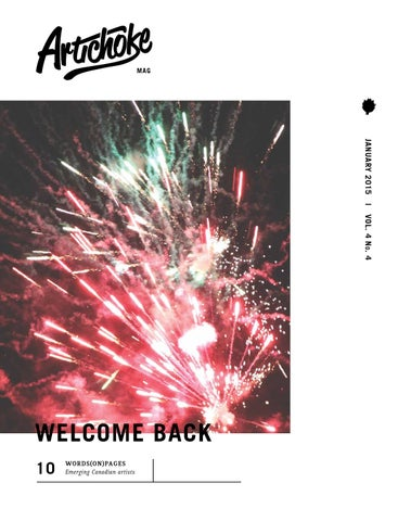 Artichoke Vol.4 No.4 by Artichoke Magazine - issuu