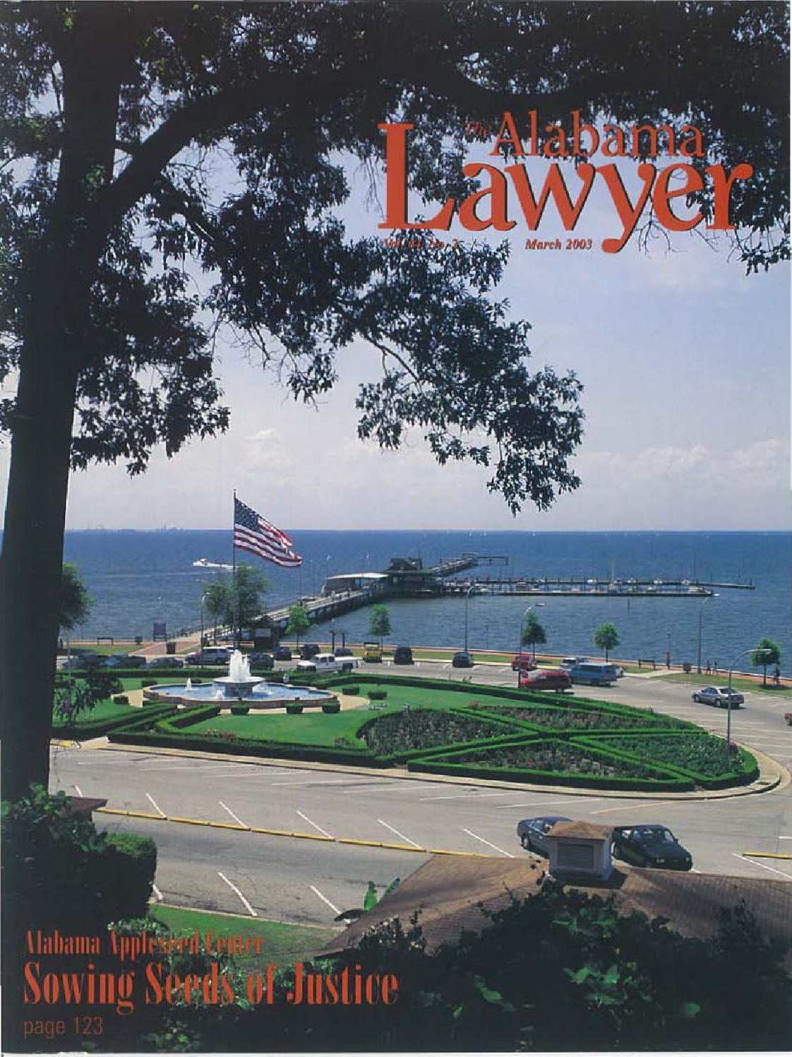 Lawyer 3 03 web by Alabama State Bar Association - issuu