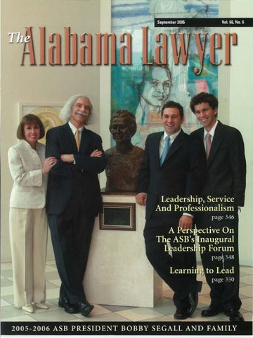 Lawyer 9 05 web by Alabama State Bar Association - issuu