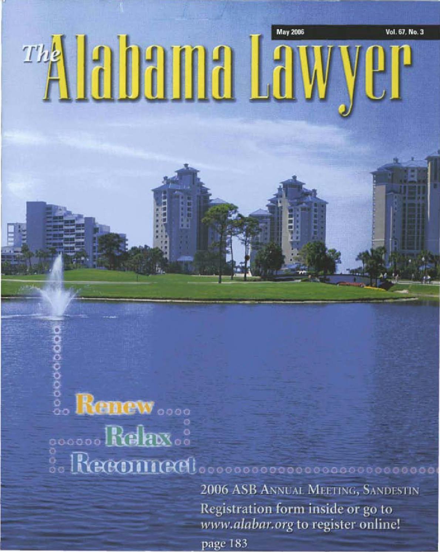 Lawyer 5 2006 web by Alabama State Bar Association - issuu