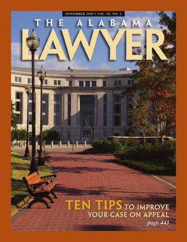 Lawyer 11 2008 Web By Alabama State Bar Association Issuu