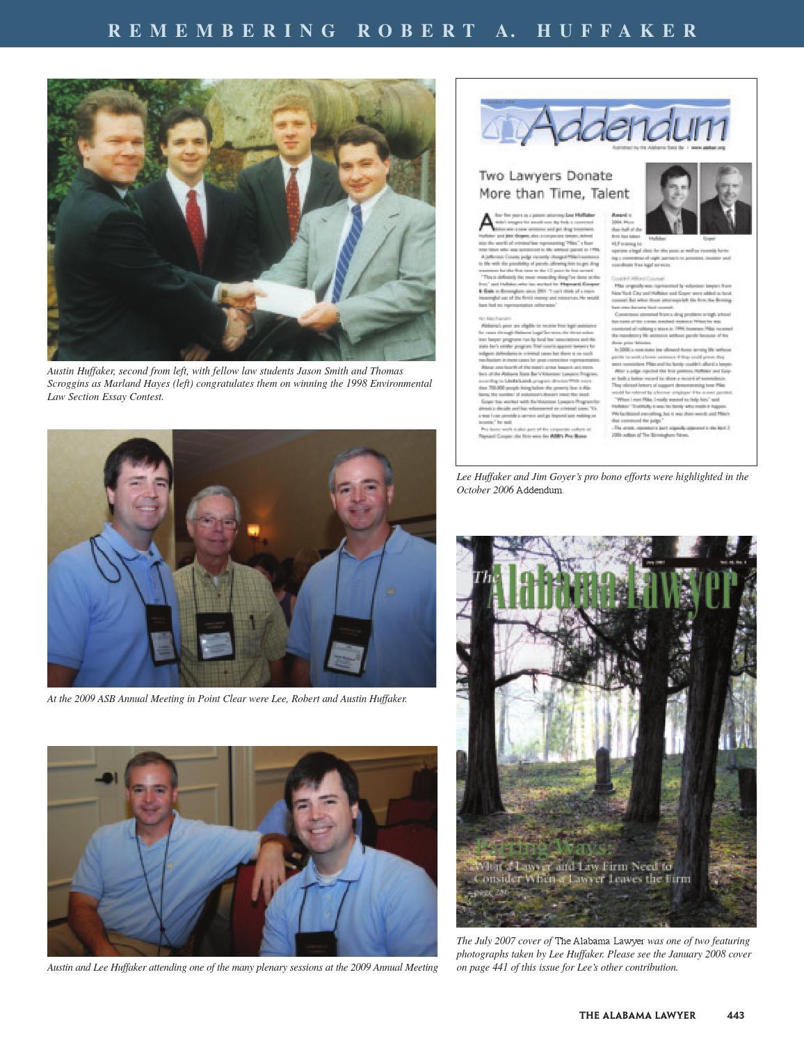 Al lawyer nov 2010 by Alabama State Bar Association - issuu