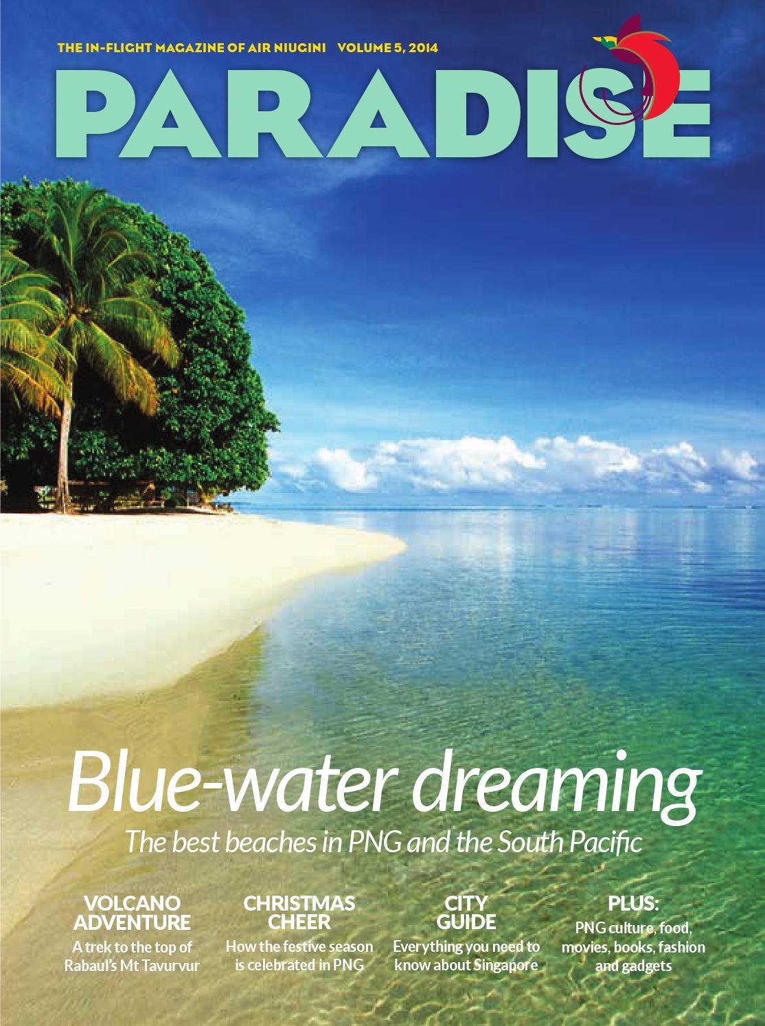 396efc12a8b9f Paradise  the in-flight magazine of Air Niugini