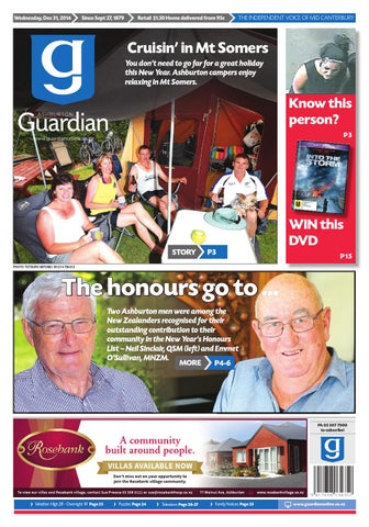 Ag 31 december 2014 by ashburton guardian issuu page 1 fandeluxe Gallery