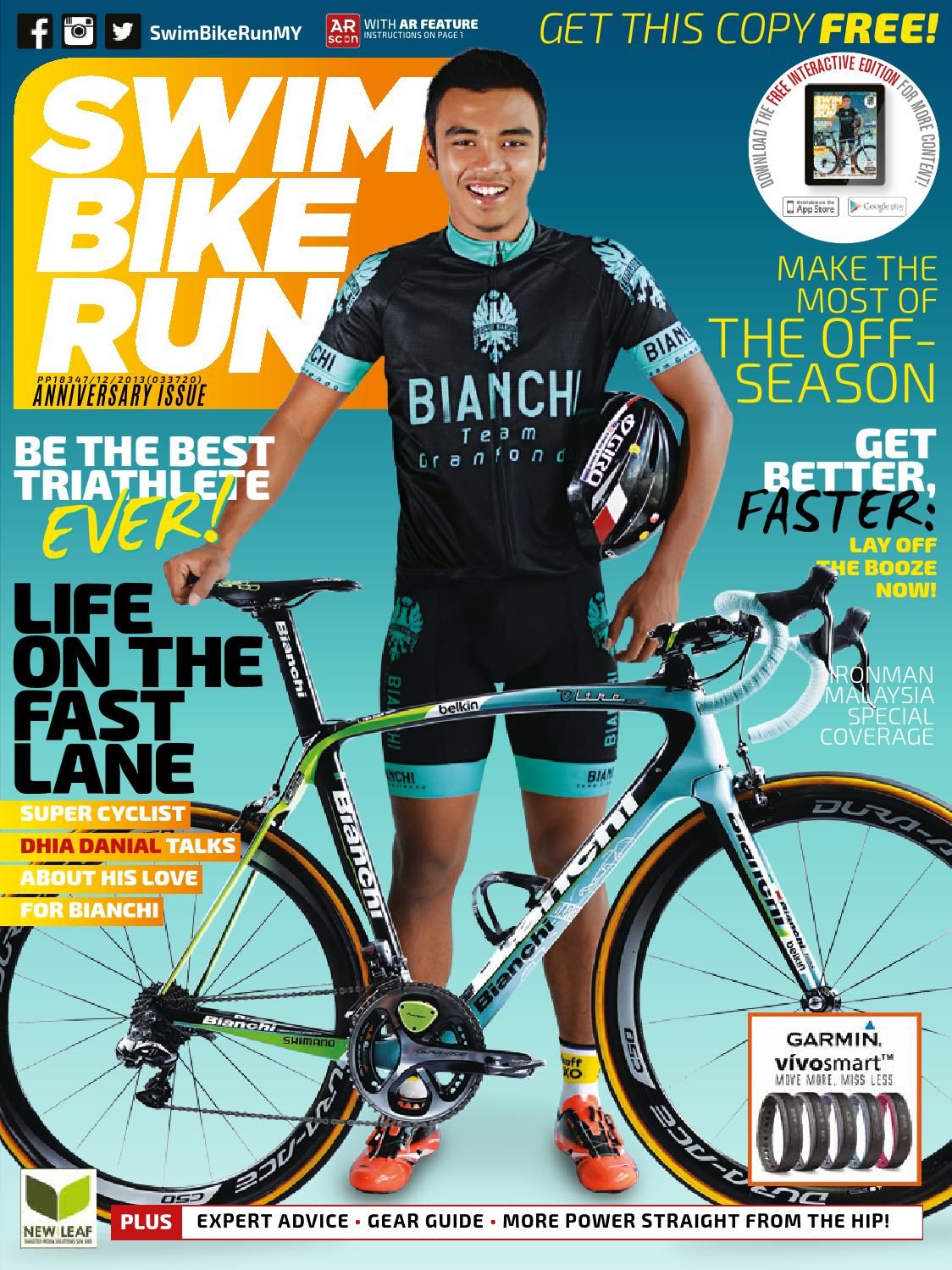Swim Bike Run Malaysia 1st Anniversary Issue by New Leaf ...