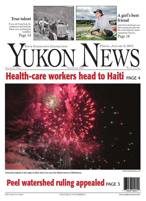 Yukon News January 02 2015 by