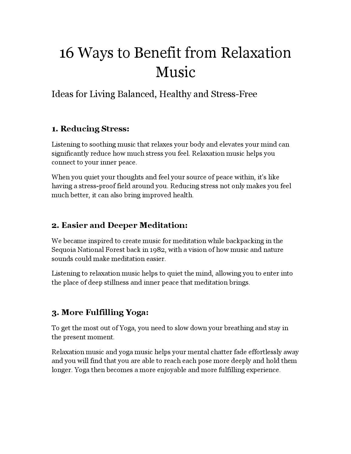 Relaxing meditation music by Zia Abbas - issuu