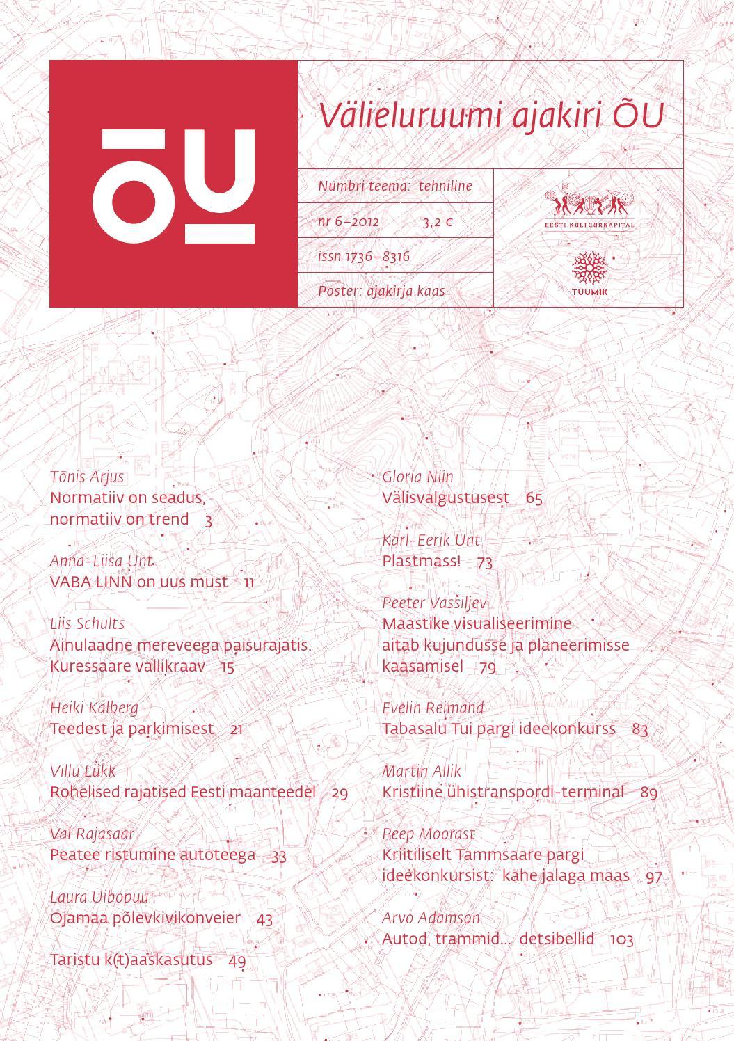 98a90f1d055 ÕU nr 6 by välieluruumi ajakiri ÕU - issuu