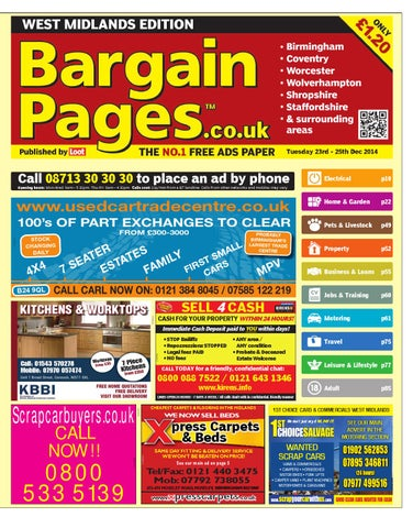 666a48d1b4 Bargain Pages West Midlands, December 23rd 2014 by Loot - issuu