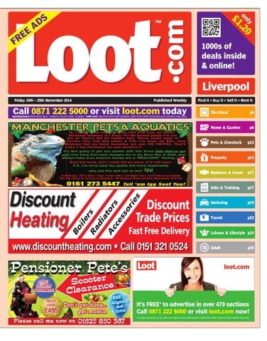 5973e7d53679 Loot London 19th April 2014 by Loot - issuu