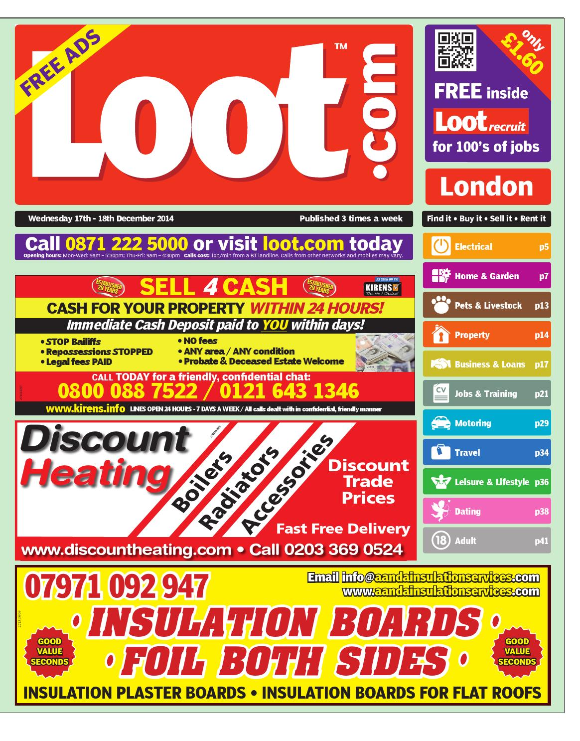buy popular 1c450 88c68 Loot London 17th Dec 2014