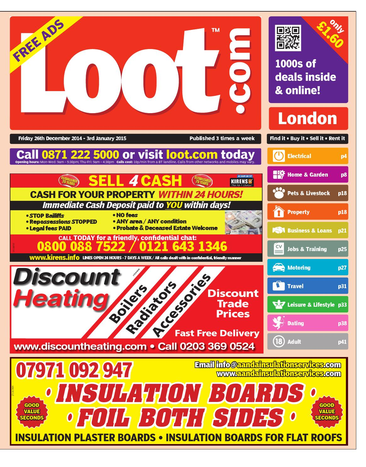 Loot London 26th Dec 2014 by Loot - issuu 08a7680befd9