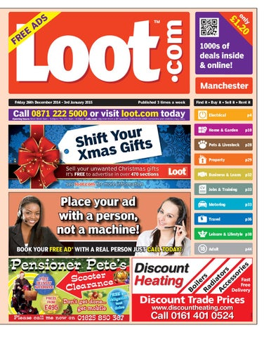 9ded940713 Loot Manchester 26th Dec 2014 by Loot - issuu