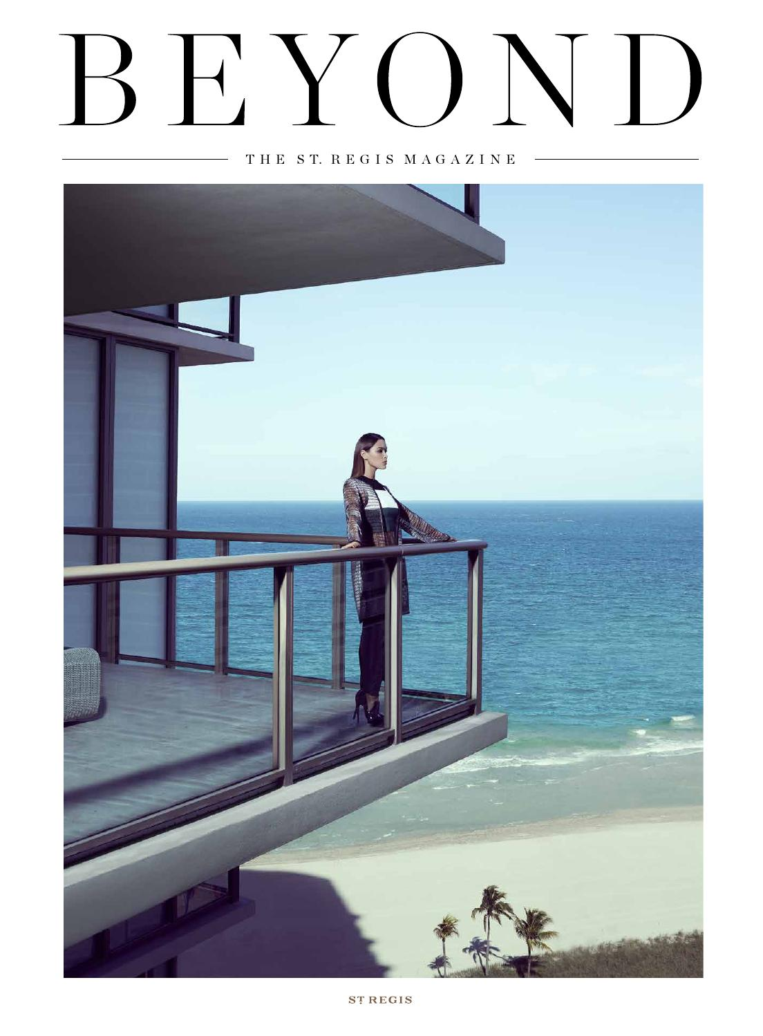 Beyond The St Regis Magazine Issue 4 Fall Winter 2014 By Beverly Hills Polo Club Denise Crosby Handbag Coffee Hotels Resorts Issuu