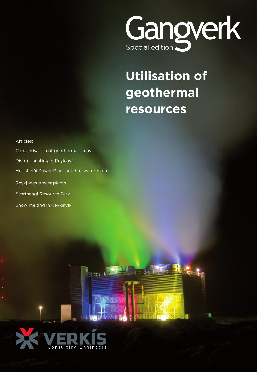 Utilisation Geothermal Resources By Verks Consulting Engineers Issuu Wiring Schematic 3 Phase